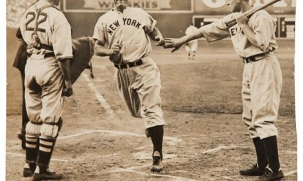 Lou Gehrig hits his final homerun