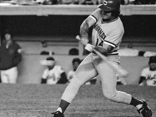 Pete Rose returns to the Cincinnati lineup for the first time in six years, going 2-for-4, including a single in his first at-bat, in the team's 6-4 victory over Chicago at Riverfront Stadium