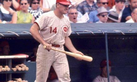 Pete Rose wins the National League MVP Award