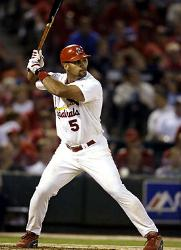 Albert Pujolsof theSt. Louis Cardinalsis the unanimous choice as winner of theNational League MVP Award