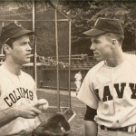 Roger Staubach - letters in baseball at Navy