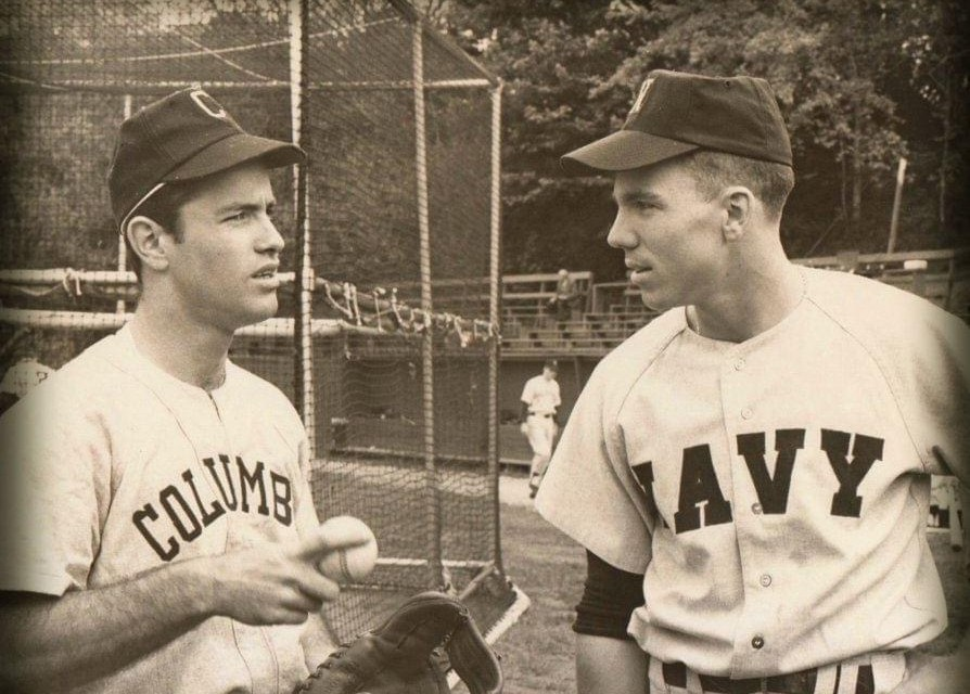Roger Staubach – letters in baseball at Navy