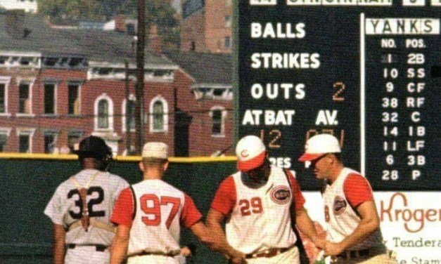 Wally Post Homers in game 5 1961 World