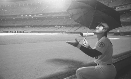 The First Home Opener in LA Dodgers history rained out