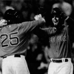 Dustin Pedroia becomes the second player in Red Sox history to steal 100 bases and hit 100 homeruns