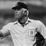 Hall of fame umpire Doug Harvey is born