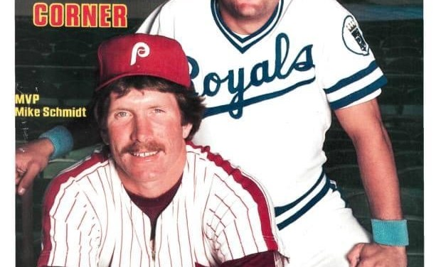 George Brett and Mike Schmidt on cover of SI