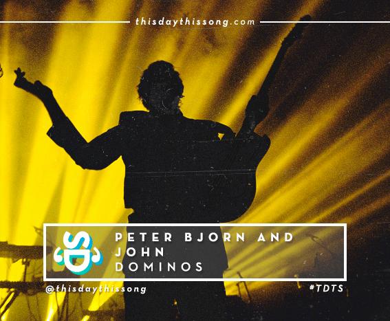 08/21/2016 @ Peter Bjorn and John – Dominos