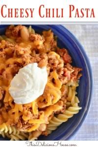 Cheesy Chili Pasta
