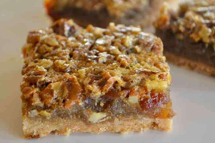 Pecan Pie Date Bars – Lightened Up!