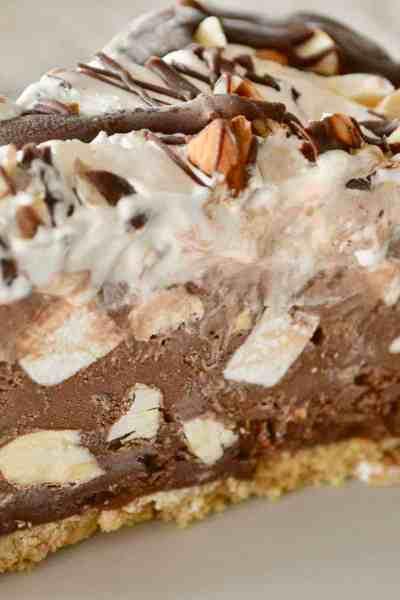 rocky road ice cream pie
