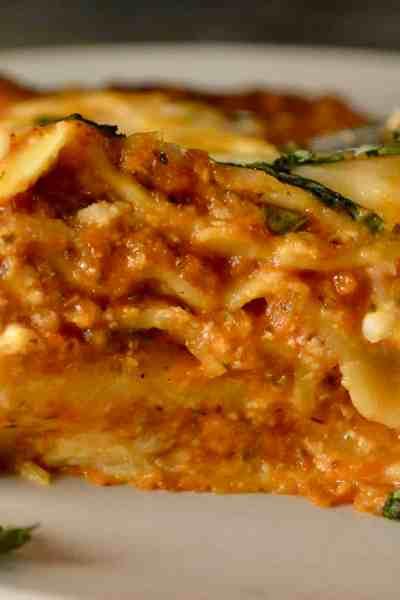 easy vegetable lasagne recipe