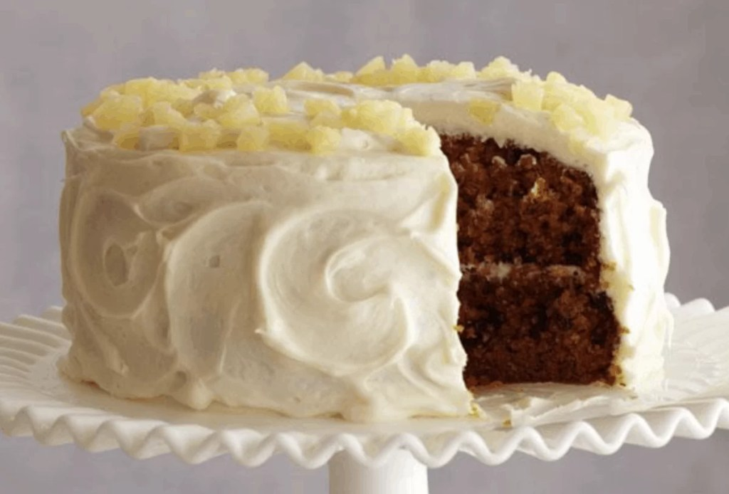 Barefoot Contessa Ina Garten Carrot and Pineapple Cake that's perfect for your Easter Brunch Menu.