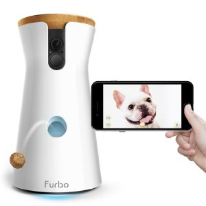 furbo dog camera / keep dogs busy while at work