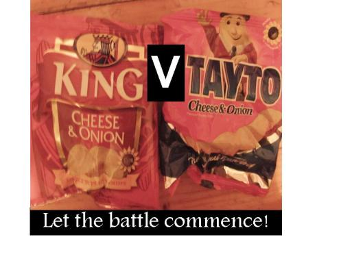 Battle of the crisps, who wins, Tayto or King crisps
