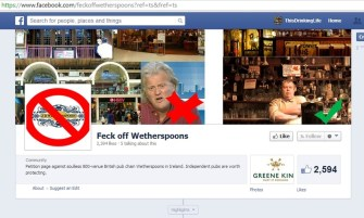 feck off wetherspoons
