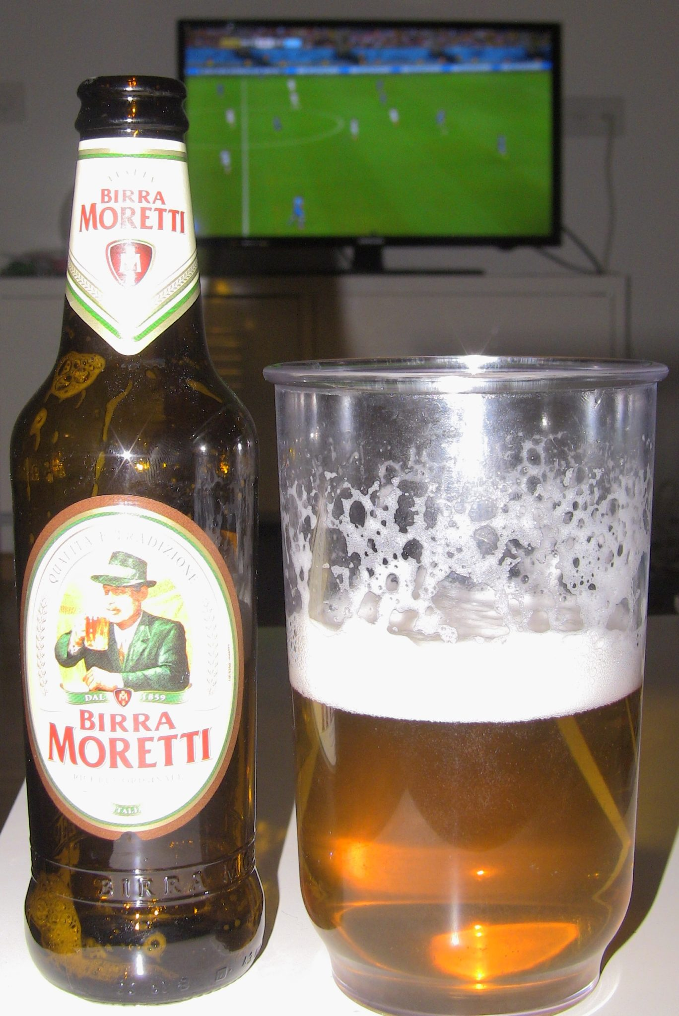 Birra Moretti, Stylish Italian Beer