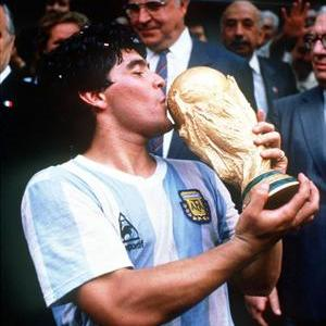 Maradona and argentina Diego Maradona, El Diego, the legend
