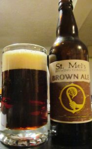 st Mel's brown ale St Mel's Brewery Longford
