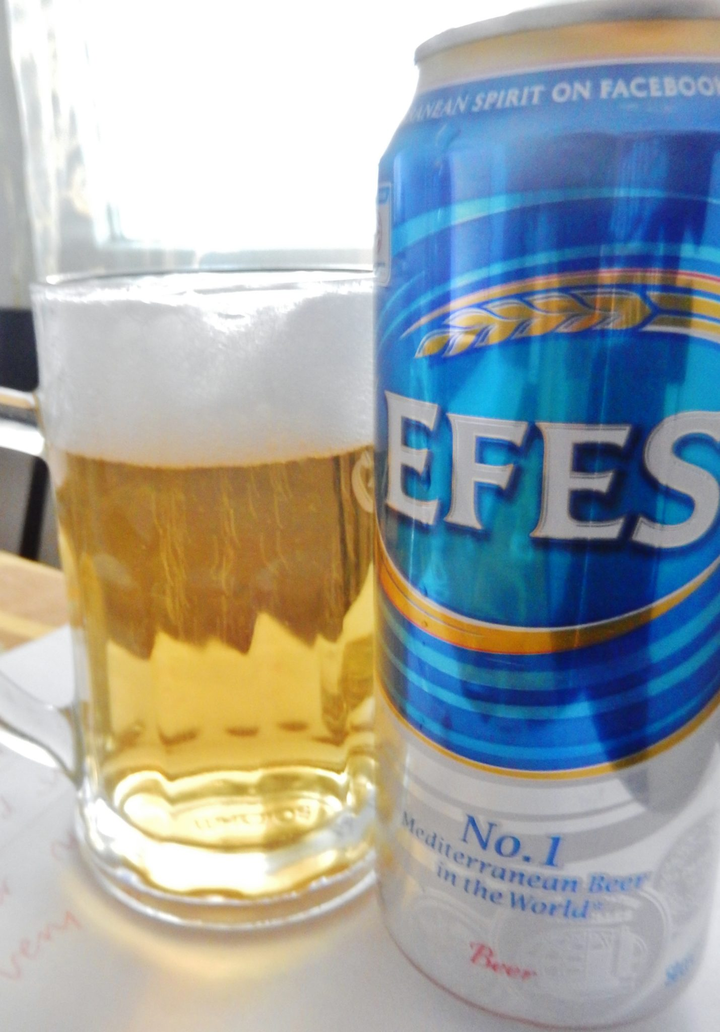 Efes Pilsen, Turkish delight. The number one Mediterranean beer in the world
