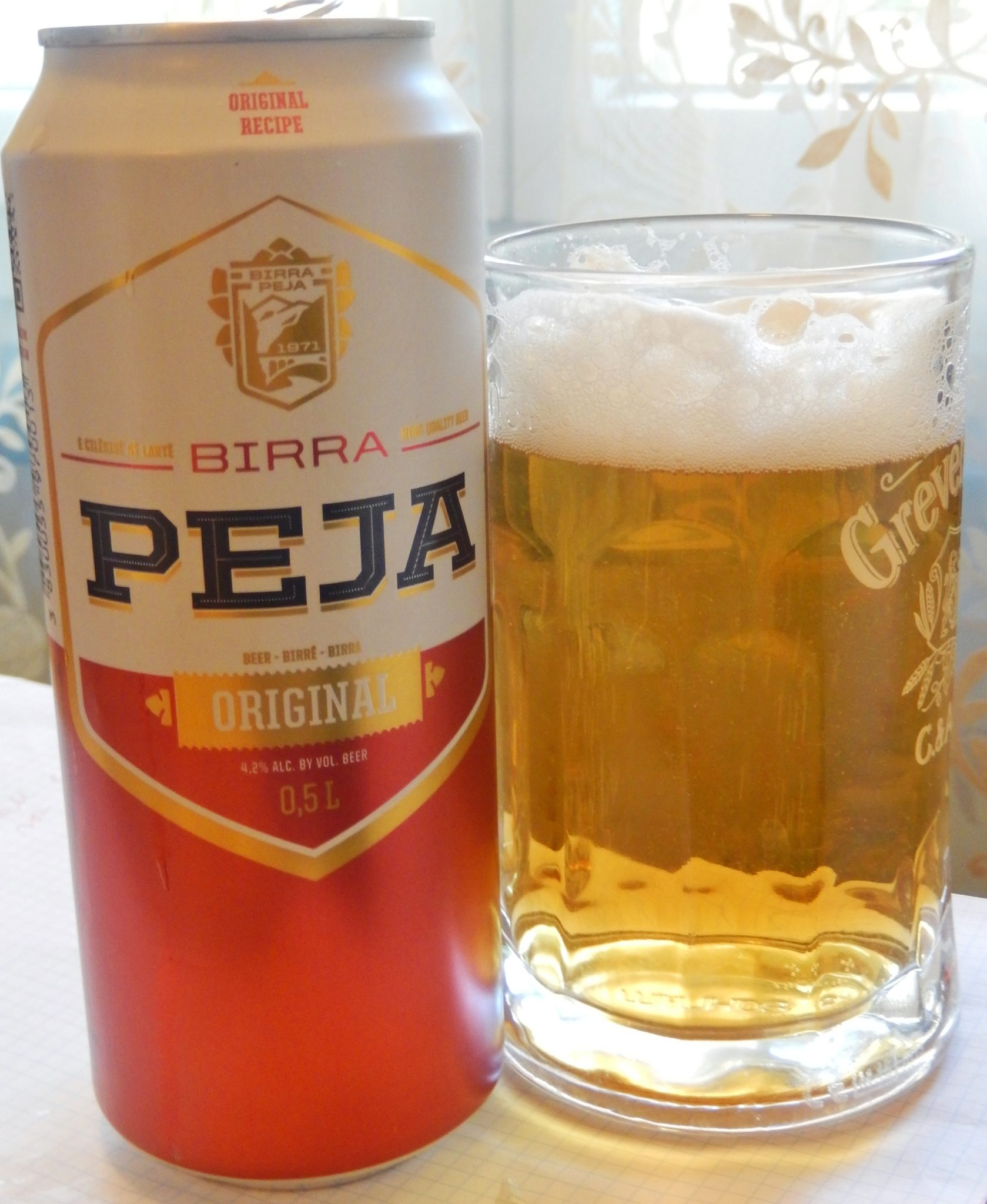 Birra Peja Pilsner Original