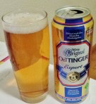 Oettinger Export. The cheap beer with added value
