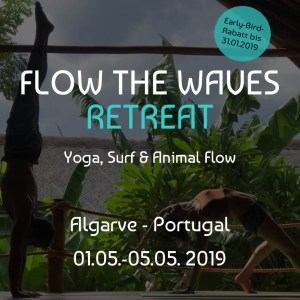 Flow The Waves Retreat - Portugal 2019 mit Nina und Sascha - This Drives Me