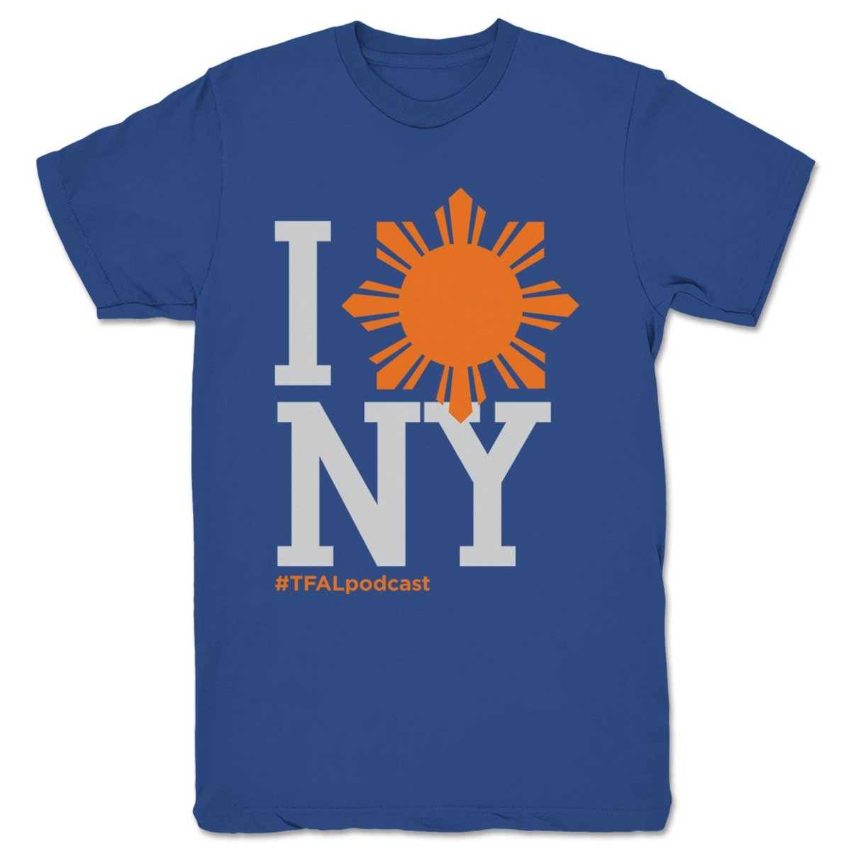This-Filipino-American-Life-NY---Spike-Lee-Unisex-Tee-Royal-Blue