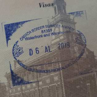 Passport Stamps!