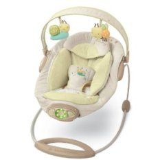 $15 // Bright Starts baby bouncer with music and white noise