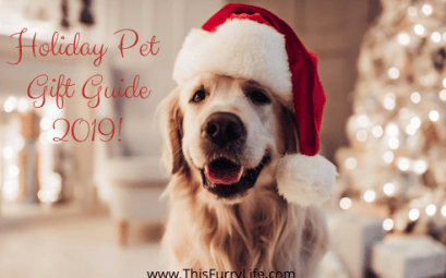 Holiday Pet Gift Guide - 2019!