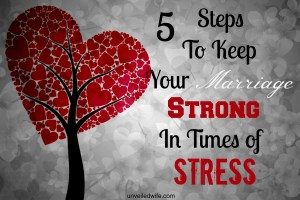 How to Be Married When You are Stressed