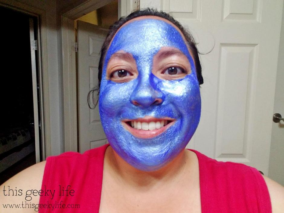 Trying out GlamGlow: Sonic Version