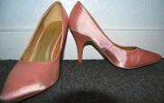 pink cabaret shoes