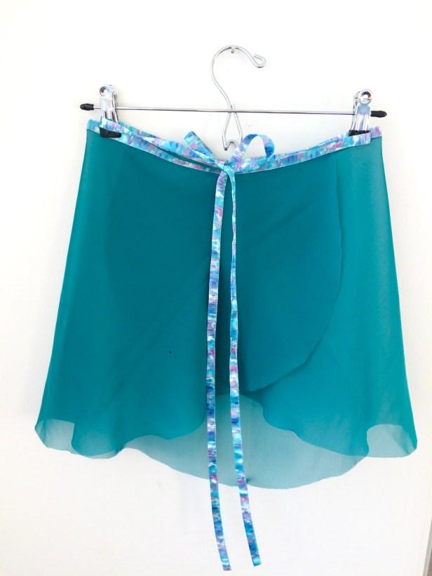 Watercolors Ballet Skirt