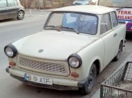 White Trabbi for the workin' man