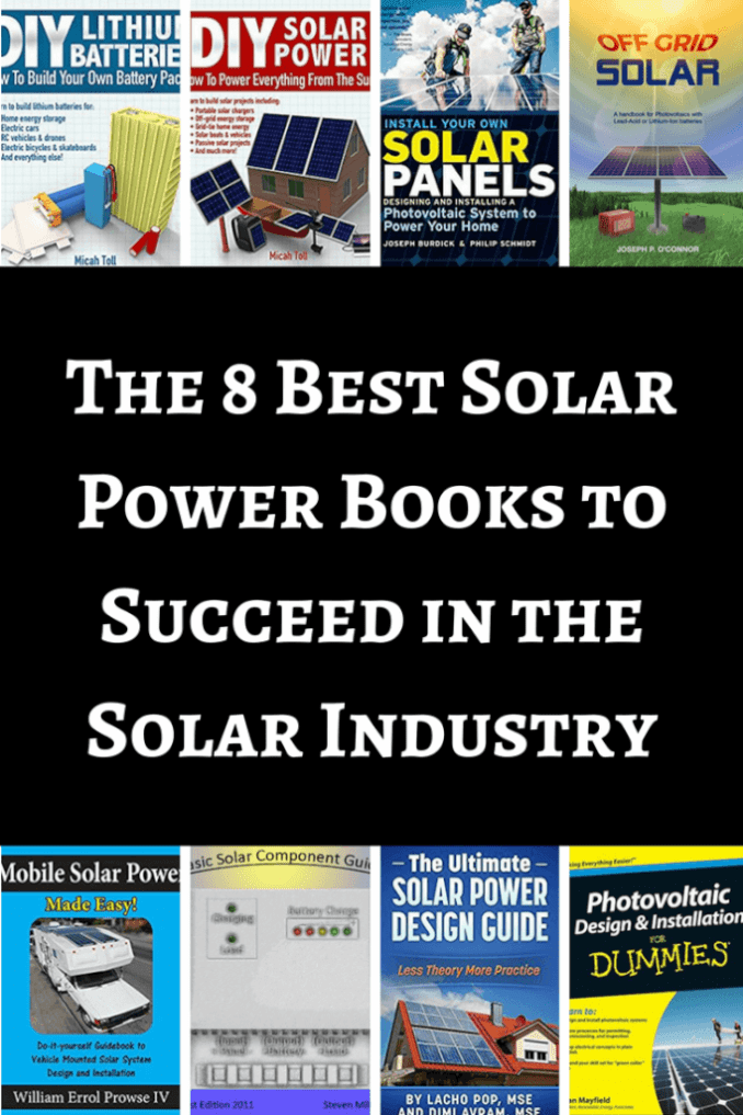 Solar power books to succeed in the solar industry the 8 best solar power books solutioingenieria Images