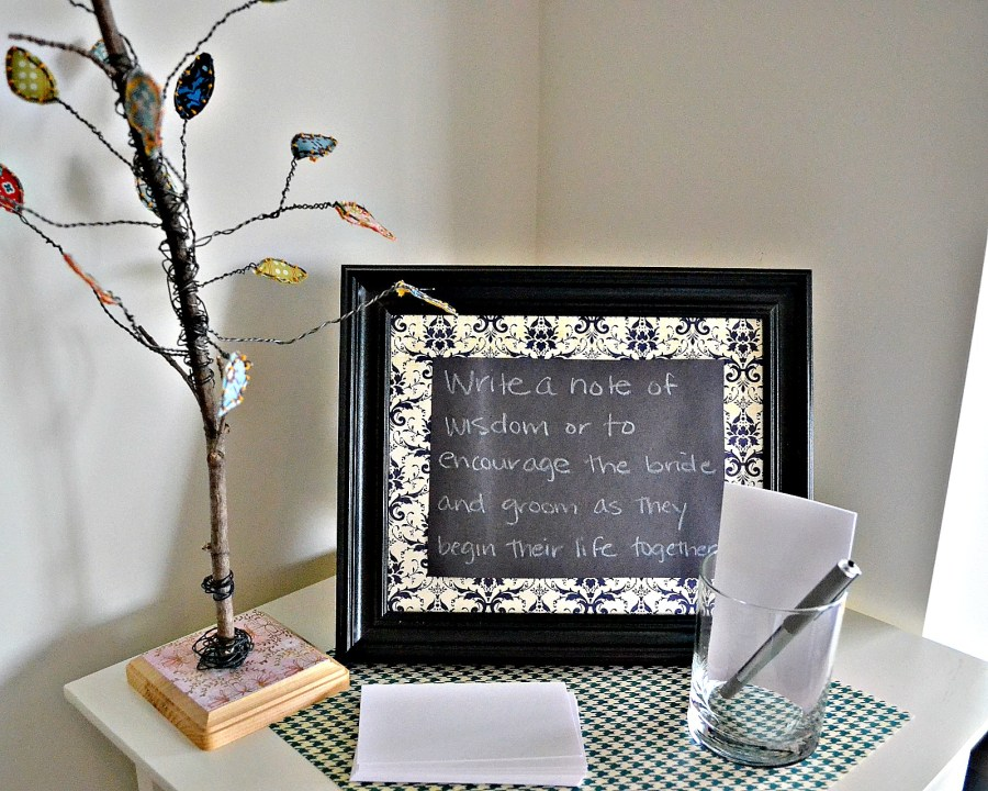 A Laid-back Open House Couples Shower - Notes of Encouragement | www.thisgratefulmama.com