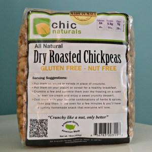 Dry Roasted Chickpeas (by Chic Naturals)