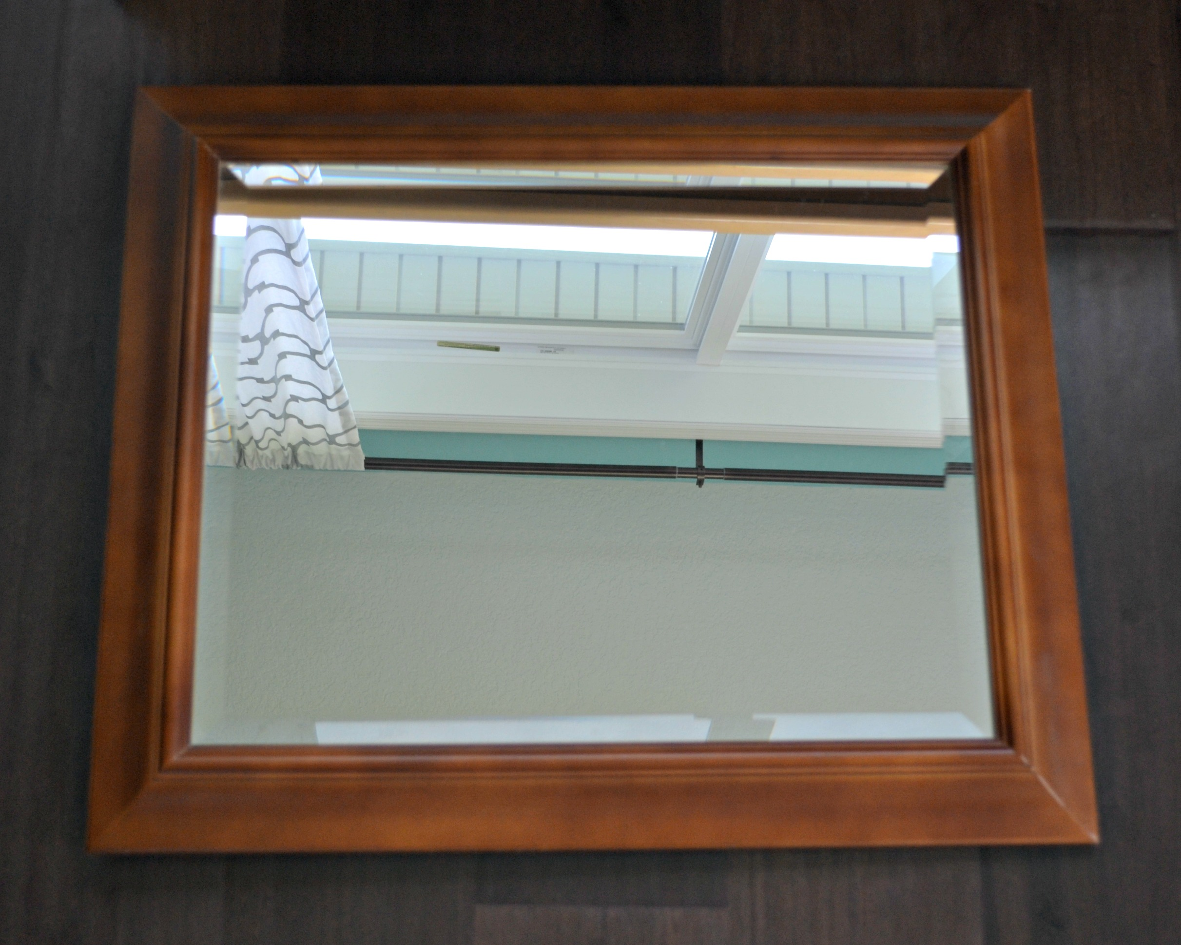 DIY Decor: How to Update a Framed Mirror with Chalk Paint | This ...