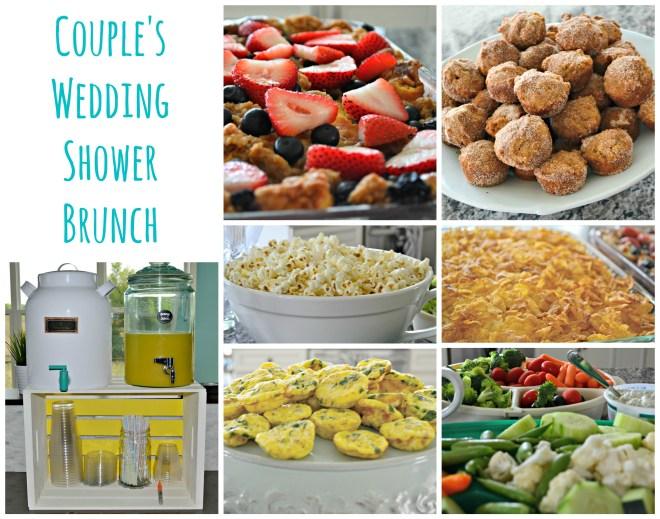Couple's Wedding Shower Brunch | www.thisgratefulmama.com