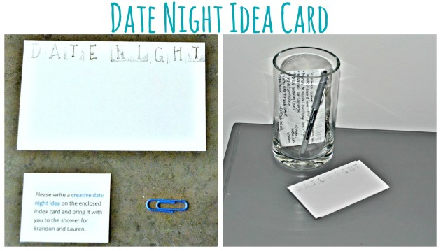 Date Night Idea Card | www.thisgratefulmama.com