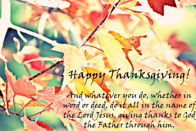 Happy Thanksgiving | thisgratefulmama.com