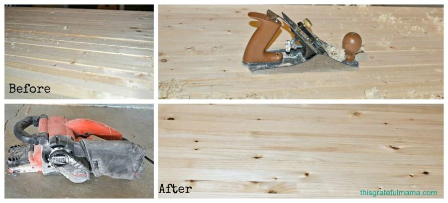 DIY: Mudroom Storage Bench Update | thisgratefulmama.com