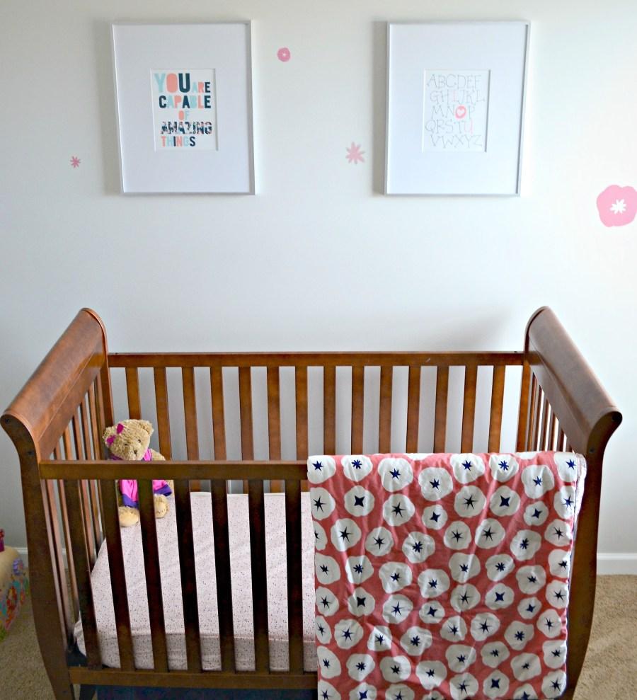 Crib and Artwork