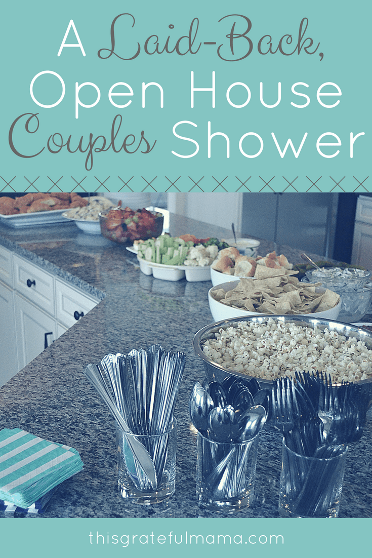 A Laid-Back, Open House Couples Shower | thisgratefulmama.com