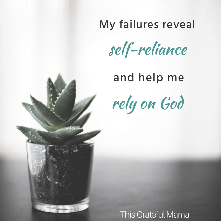 What does God say when we can't do it all? | thisgratefulmama.com #selfreliance #perfectionism #God #faith #God #women #mom #grace