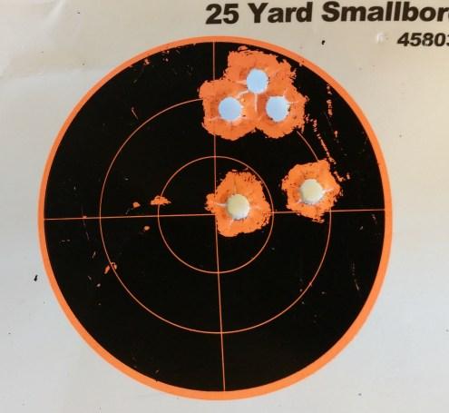10 yards Winchester SUPER UNLEADED 147gr FMJ Encp.