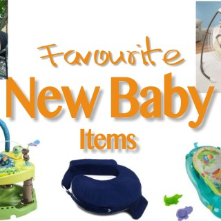 Favourite New Baby Items