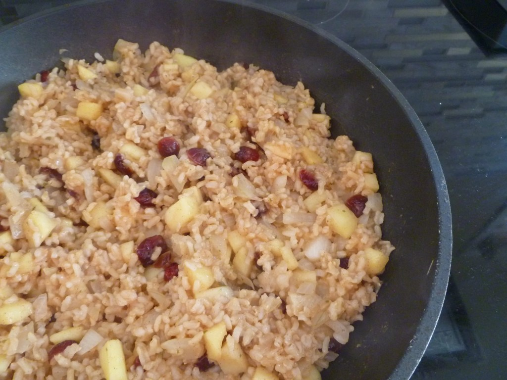 Apple Cinnamon Rice